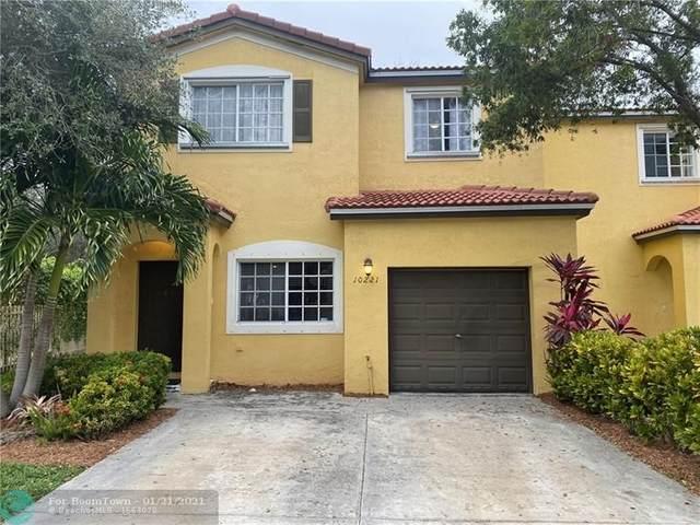 10221 SW 21st St #10221, Miramar, FL 33025 (MLS #F10267592) :: Green Realty Properties