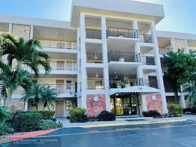 2800 N Palm Aire Dr #408, Pompano Beach, FL 33069 (MLS #F10267601) :: Castelli Real Estate Services