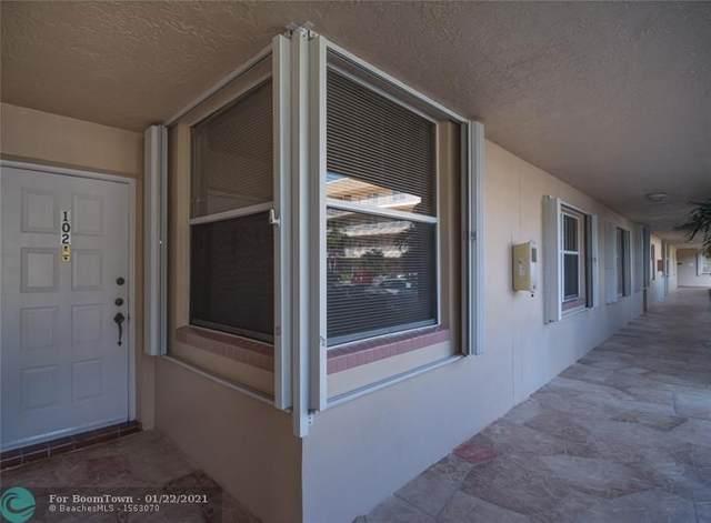 10422 NW 24th Pl #102, Sunrise, FL 33322 (MLS #F10267949) :: Castelli Real Estate Services