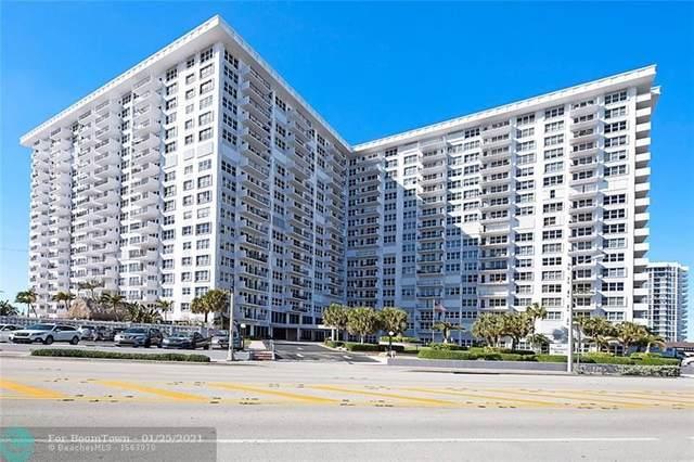 405 N Ocean Blvd #118, Pompano Beach, FL 33062 (MLS #F10268021) :: Green Realty Properties