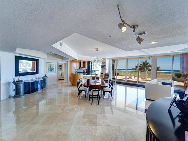 6051 N Ocean Dr #306, Hollywood, FL 33019 (MLS #F10268220) :: The Howland Group