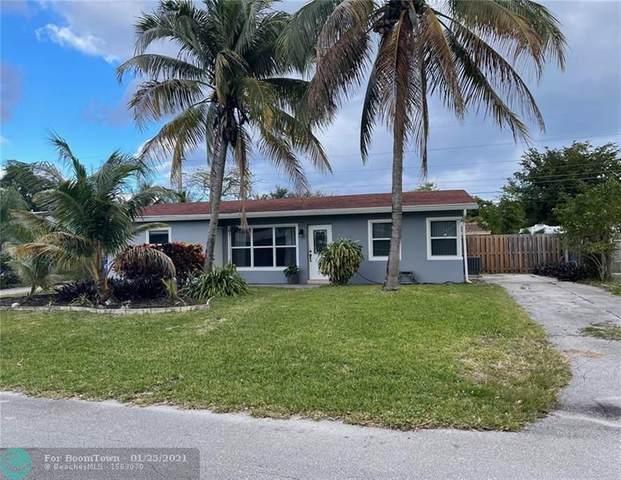 3040 NE 11th Terrace, Pompano Beach, FL 33064 (MLS #F10268237) :: Laurie Finkelstein Reader Team