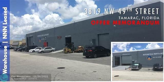 3819 NW 49 Street, Tamarac, FL 33309 (MLS #F10268257) :: Berkshire Hathaway HomeServices EWM Realty