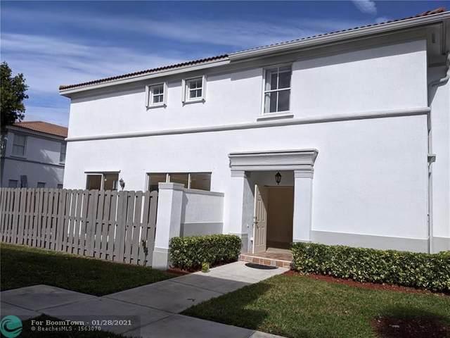 4096 SW 158th Ave #65, Miramar, FL 33027 (#F10268653) :: Treasure Property Group