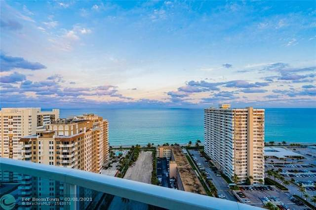 1945 S Ocean Dr #2301, Hallandale, FL 33009 (MLS #F10268663) :: Green Realty Properties