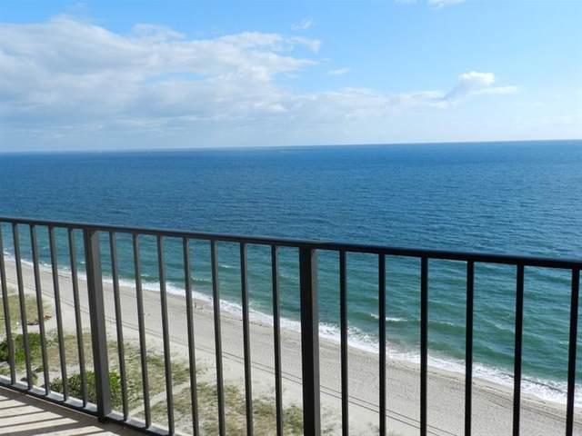 5100 N Ocean #1610, Lauderdale By The Sea, FL 33308 (MLS #F10268734) :: Patty Accorto Team