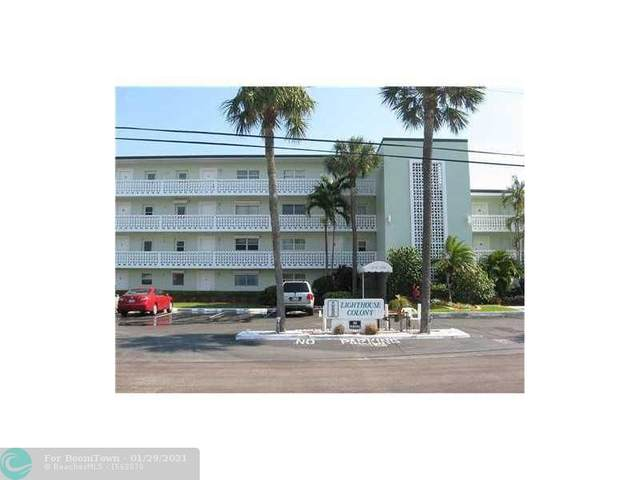 2772 NE 30th Ave 6C, Lighthouse Point, FL 33064 (#F10268879) :: Posh Properties