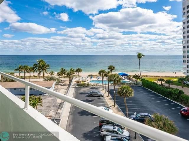4050 N Ocean Drive #506, Lauderdale By The Sea, FL 33308 (MLS #F10269009) :: Green Realty Properties