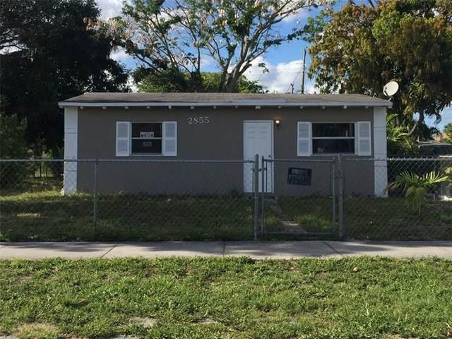 2855 NW 3rd St, Pompano Beach, FL 33069 (#F10269032) :: Posh Properties