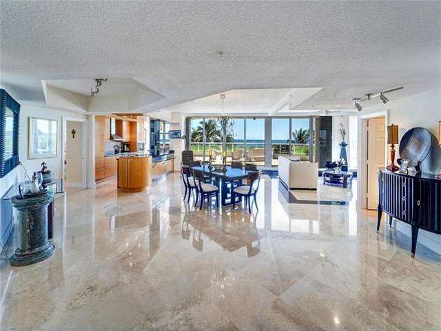 6051 N Ocean Dr #307, Hollywood, FL 33019 (#F10269048) :: Posh Properties