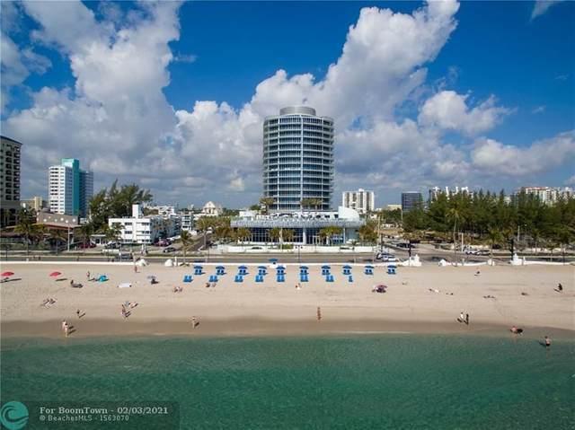701 N Fort Lauderdale Beach #504, Fort Lauderdale, FL 33304 (MLS #F10269169) :: The Howland Group