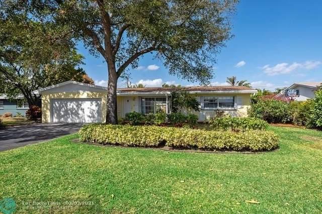 1701 NE 56th Ct, Fort Lauderdale, FL 33334 (#F10269350) :: Posh Properties