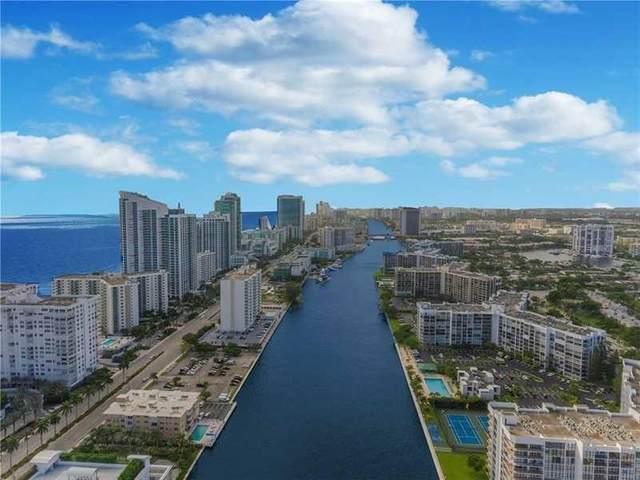 400 Leslie Dr #421, Hallandale Beach, FL 33009 (MLS #F10270107) :: Green Realty Properties