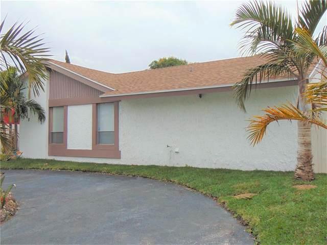 8160 SW 4th St, North Lauderdale, FL 33068 (#F10270179) :: Posh Properties