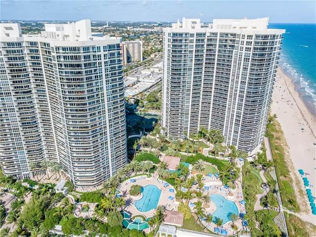3200 N Ocean Blvd #402, Fort Lauderdale, FL 33308 (MLS #F10270244) :: Green Realty Properties