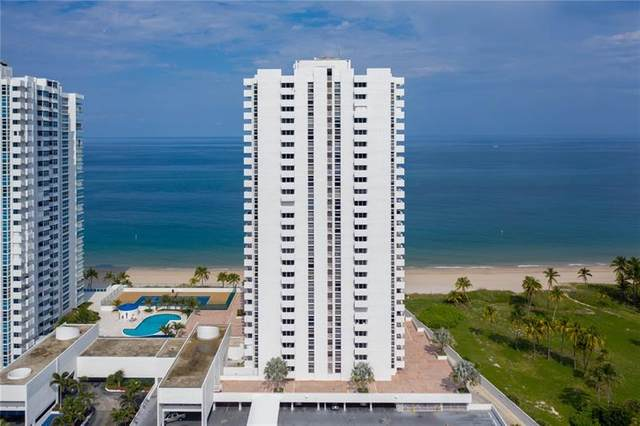 1370 S Ocean Blvd #1505, Pompano Beach, FL 33062 (MLS #F10270666) :: Castelli Real Estate Services