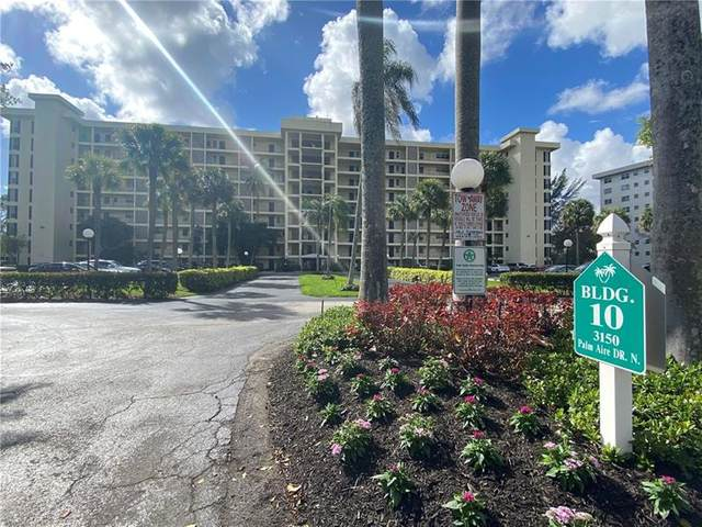 3150 N Palm Aire Dr #306, Pompano Beach, FL 33069 (MLS #F10270829) :: Green Realty Properties