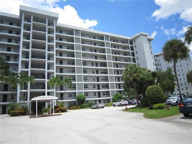 4015 W Palm Aire Dr #1001, Pompano Beach, FL 33069 (MLS #F10271323) :: Green Realty Properties