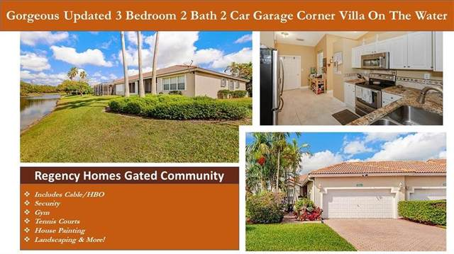2351 E Aragon Blvd #1, Sunrise, FL 33313 (MLS #F10271420) :: Green Realty Properties