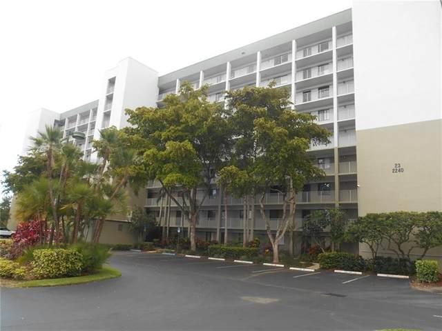 2240 N Cypress Bend Dr #203, Pompano Beach, FL 33069 (MLS #F10272056) :: Green Realty Properties
