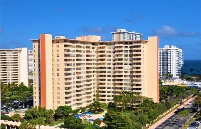 3333 NE 34th St #710, Fort Lauderdale, FL 33308 (#F10272320) :: Posh Properties