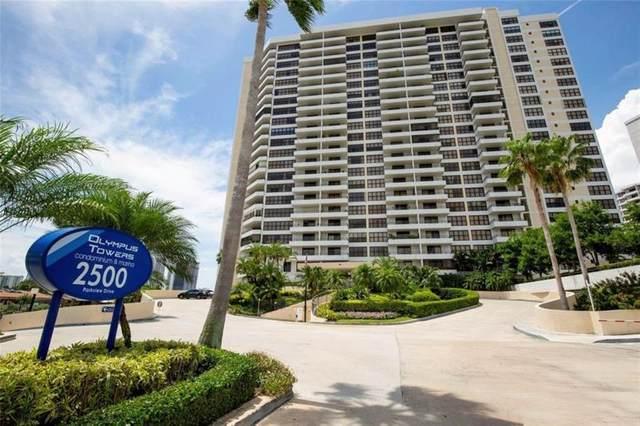 2500 Parkview Dr #606, Hallandale, FL 33009 (MLS #F10272347) :: Green Realty Properties