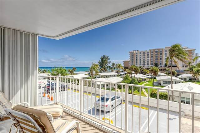 1010 S Ocean Blvd #407, Pompano Beach, FL 33062 (MLS #F10272531) :: Castelli Real Estate Services