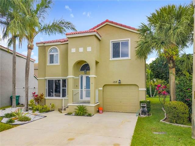157 NW 117th Ter, Coral Springs, FL 33071 (MLS #F10272608) :: Berkshire Hathaway HomeServices EWM Realty