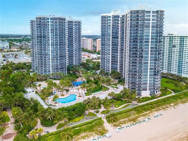3100 N Ocean Blvd #1502, Fort Lauderdale, FL 33308 (MLS #F10272662) :: Berkshire Hathaway HomeServices EWM Realty