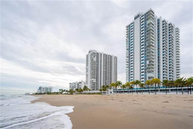 1360 S Ocean Blvd #508, Pompano Beach, FL 33062 (MLS #F10273144) :: Castelli Real Estate Services
