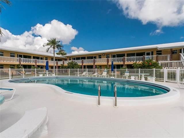 2541 NE 11th St #111, Pompano Beach, FL 33062 (#F10273165) :: The Power of 2 | Century 21 Tenace Realty