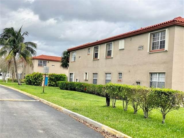 8734 SW 3rd St #101, Pembroke Pines, FL 33025 (MLS #F10273514) :: Green Realty Properties