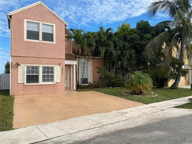 3431 Java Plum Ave, Miramar, FL 33025 (MLS #F10273814) :: Green Realty Properties