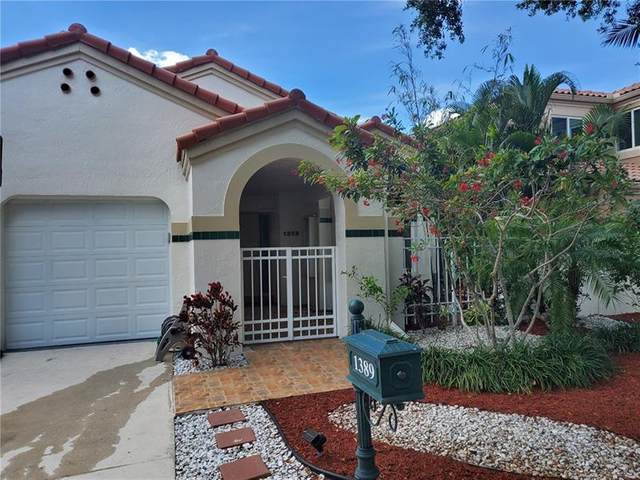 1389 Harbour Side Dr, Weston, FL 33326 (MLS #F10274134) :: Green Realty Properties