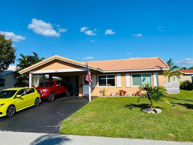 7614 NW 68th Ave, Tamarac, FL 33321 (MLS #F10274613) :: Dalton Wade Real Estate Group