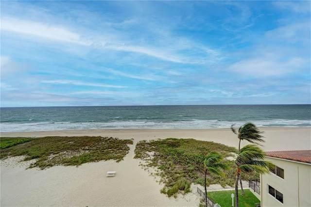 6000 N Ocean Blvd 6D, Lauderdale By The Sea, FL 33308 (#F10274731) :: Ryan Jennings Group