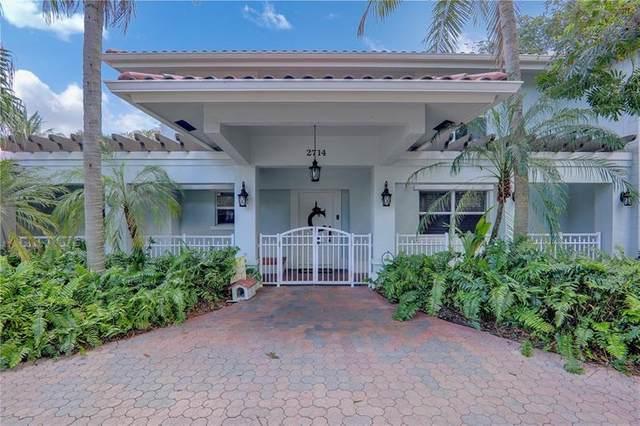 2714 NE 27TH AVE, Lighthouse Point, FL 33064 (#F10275164) :: Posh Properties