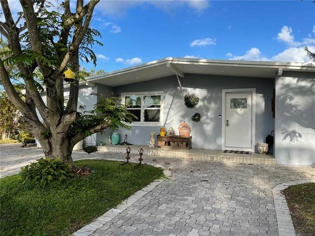 4150 NE 12th Ter, Pompano Beach, FL 33064 (MLS #F10275296) :: The Jack Coden Group