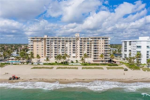 1051 Hillsboro Mile 510E, Hillsboro Beach, FL 33062 (#F10276143) :: The Rizzuto Woodman Team