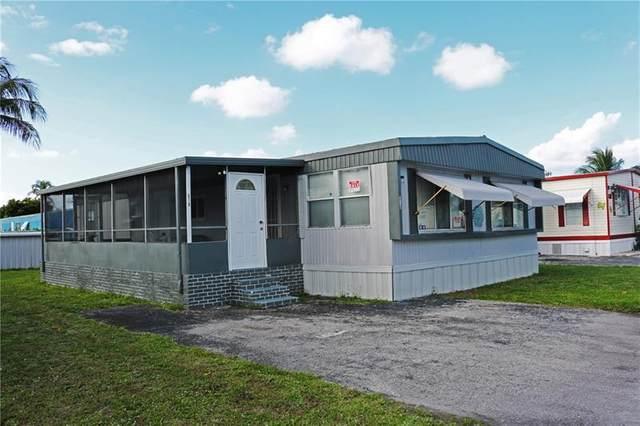11201 SW 55th St G10, Miramar, FL 33025 (#F10276788) :: Posh Properties