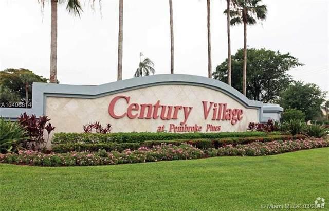 12950 SW 4th Ct 411H, Pembroke Pines, FL 33027 (MLS #F10276810) :: Castelli Real Estate Services
