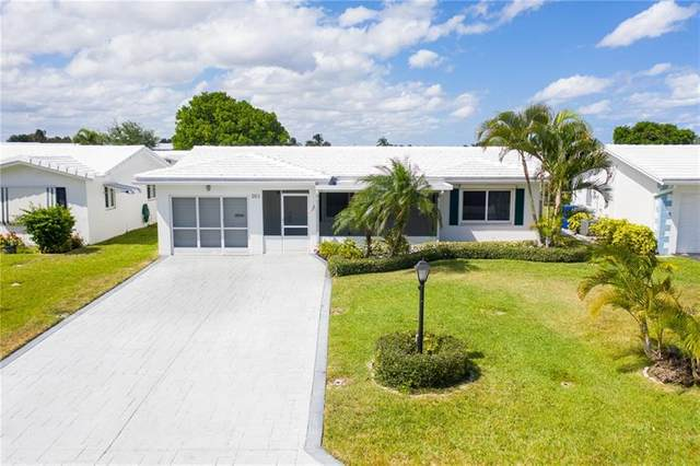 261 Leisure Bl, Pompano Beach, FL 33064 (MLS #F10276958) :: The Jack Coden Group