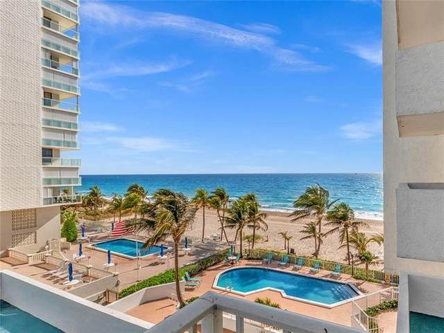 1010 S Ocean Blvd #516, Pompano Beach, FL 33062 (#F10277219) :: Ryan Jennings Group