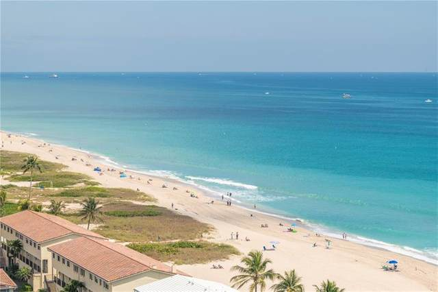 5200 N Ocean Blvd #1608, Lauderdale By The Sea, FL 33308 (#F10277348) :: Posh Properties