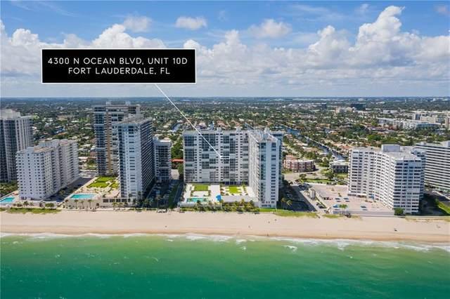 4300 N Ocean Blvd. 10 D, Fort Lauderdale, FL 33308 (#F10277418) :: Ryan Jennings Group