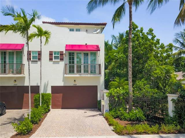 1709 NE 8th St #1709, Fort Lauderdale, FL 33304 (MLS #F10277893) :: GK Realty Group LLC