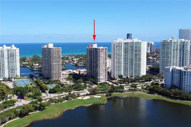 20185 S Country Club Dr #2104, Aventura, FL 33180 (MLS #F10278085) :: The Howland Group