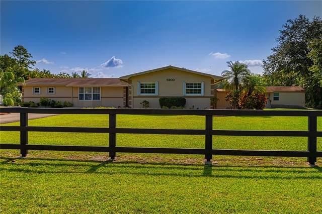 5200 SW 163rd Ave, Southwest Ranches, FL 33331 (MLS #F10278158) :: Patty Accorto Team