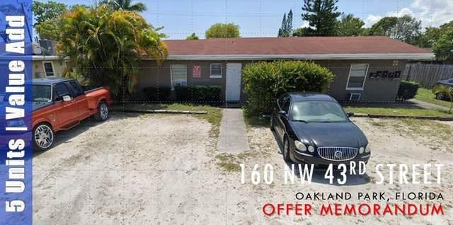160 NW 43rd St, Oakland Park, FL 33309 (#F10278166) :: Posh Properties