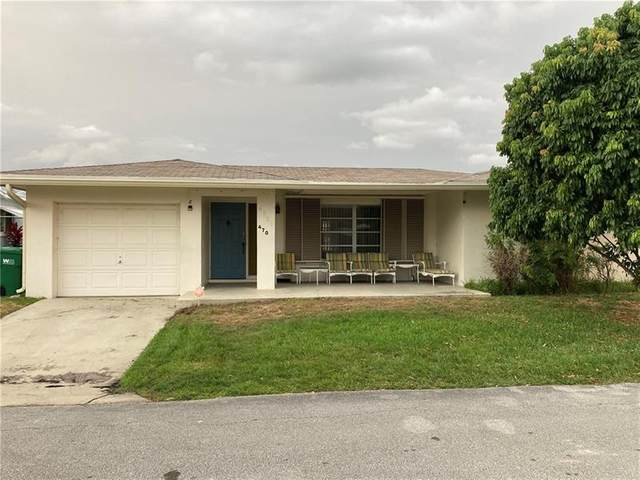 4701 NW 44th St, Tamarac, FL 33319 (MLS #F10278188) :: Berkshire Hathaway HomeServices EWM Realty